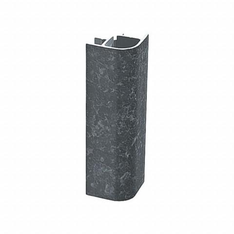 Ugao sokle 90-10 cm crni VOLPATO
