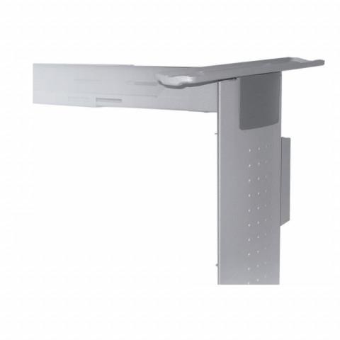 Set 2 noge+veznik 1,2-1,8 m za kancelarijski sto aluminijum
