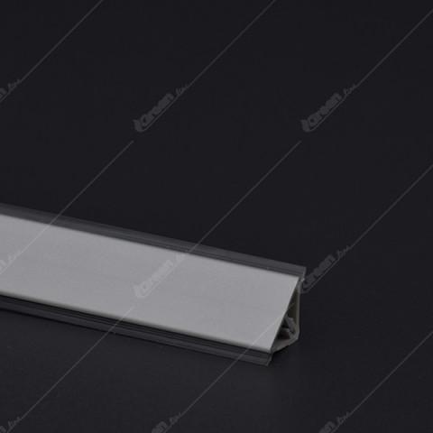 Diht lajsna mod. 1212 mini aluminijum mat 4M K