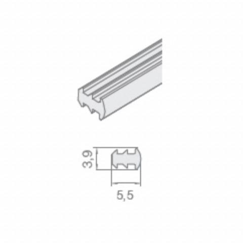 Silikonski keder za led profil LL-08 i LL-09 (3m) LA 1348000 ULL-01