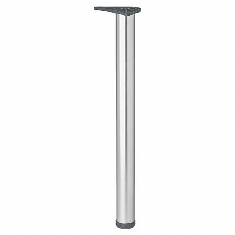 Noga za sto sa metalnom pločom 60x1100 aluminijum