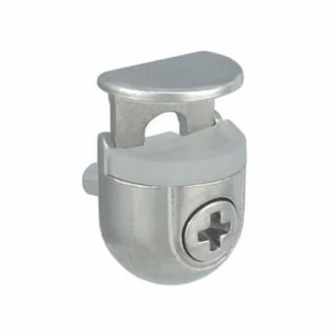 Nosač police za staklo PEKI  fi 5 4-10 mm