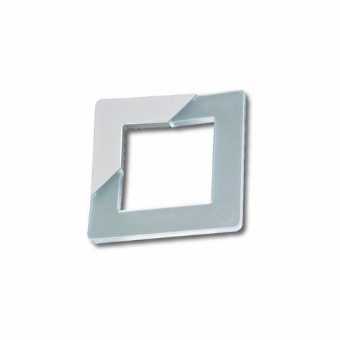 Ručica 399 quadra aluminijum+satinato