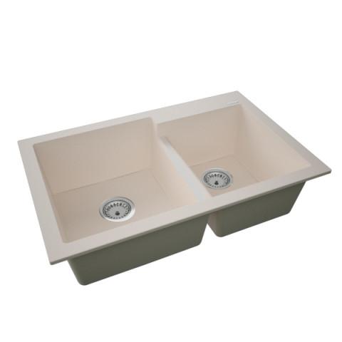 Granitna sudopera BIANCO 790x510 2k - Bež