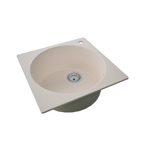 Granitna sudopera FRESCO 480x480 1k - Bež
