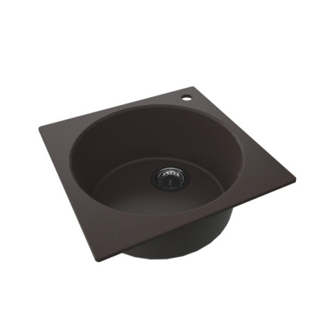 Granitna sudopera FRESCO 480x480 1k - Braon