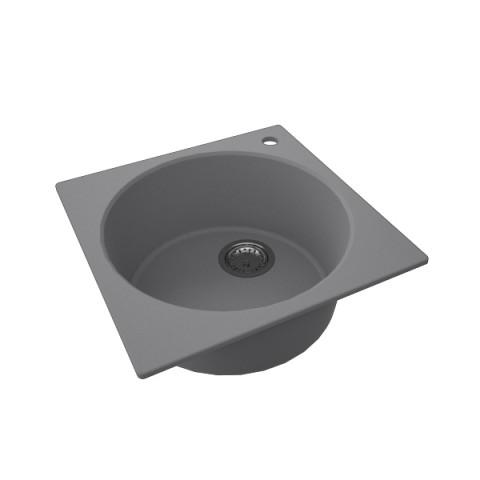 Granitna sudopera FRESCO 480x480 1k - Siva