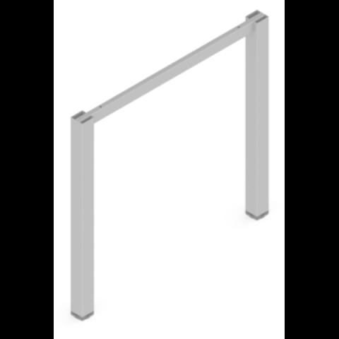 Sistem za sto HUBO 50/800 - 2 Noge + Vezač