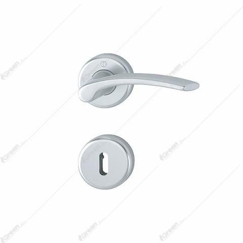 Kvaka rozeta IBIZA F1 (boja aluminijuma) ključ 1171/17K/17KS