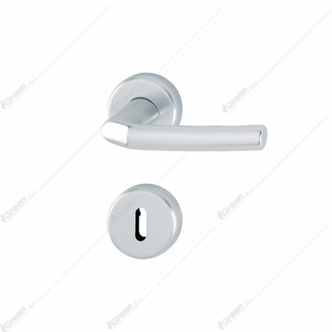 Kvaka rozeta BIRMINGHAM F1 (boja aluminijuma.) ključ 1117/88