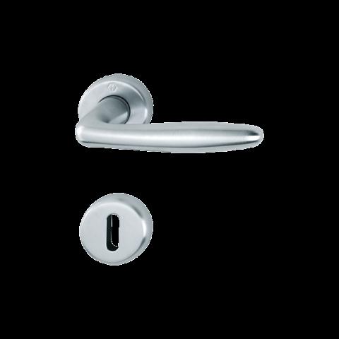 Kvaka rozeta ROISSY F1 (boja aluminijuma) ključ