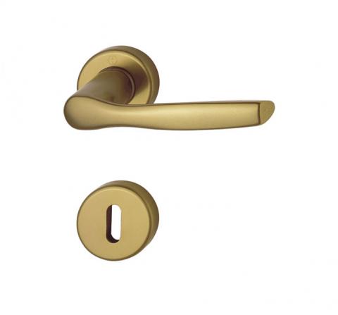 Kvaka rozeta MILANO H F4 ključ