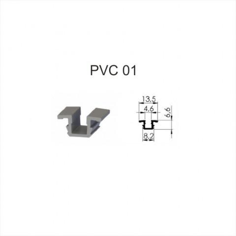 Pvc šina PVC-01 (3m)