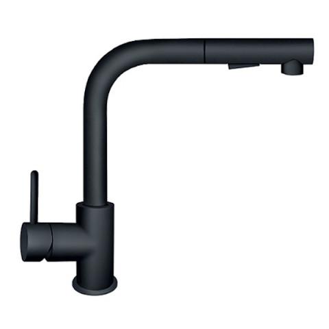 Slavina JD38601 - ZERRO DARK za sudoperu sa izvlačnim tušem