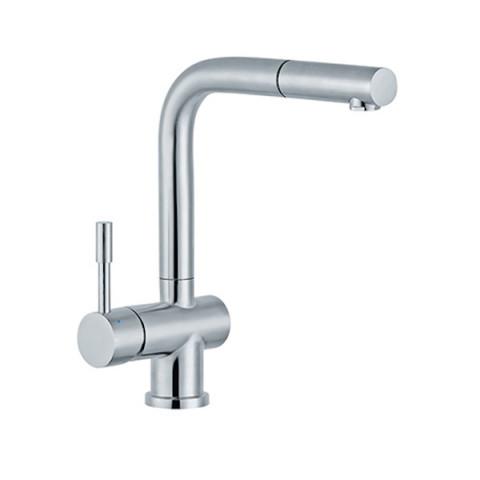 Slavina JS38603 – STEEL (od nerđajućeg čelika) za sudoperu sa izvlačnim tušem 3 cevi