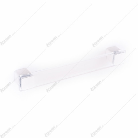 Ručica 96 160mm transparentno-belo