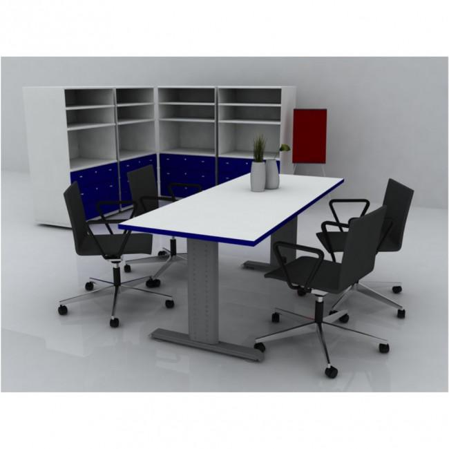 Noga za kancelarijski sto simetri na vezna greda 1 2 for Table za stolove