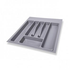 Ladica za kuhinjski pribor siva 50cm Volpato