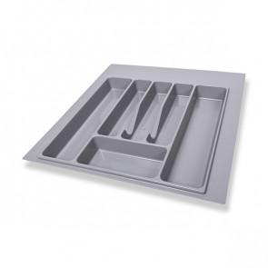 Ladica za kuhinjski pribor siva 55cm Volpato
