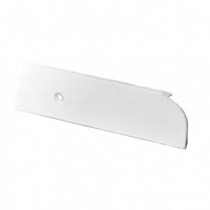 Spojnica radne ploče (završetak 4cm) bela