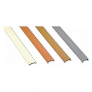 PVC kant 18 mm hrom
