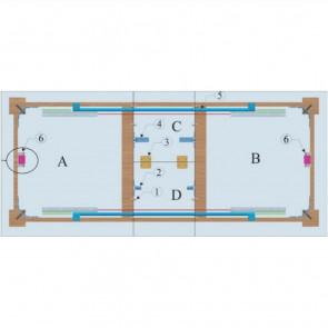 Klizač za sto HMR 88 (L-65,41)
