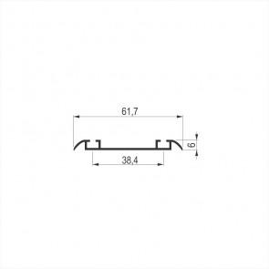 GL-10 N DONJA KLIZNA ŠINA ALU-9006