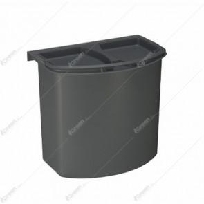 Kanta za smeće BIO 7l Antracit