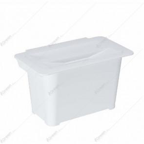 Kanta za smeće višenamenska bela 6l
