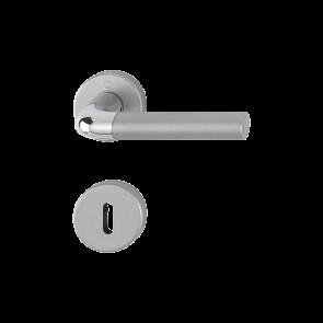 Kvaka rozeta BREMEN H CR/AL ključ