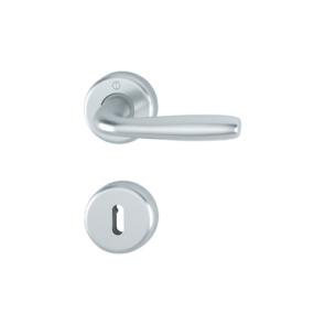 Kvaka rozeta MARIBOR F1 (boja aluminijuma) ključ 1766/17K/17KS