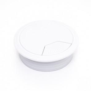Rozetna za stolove bela fi60