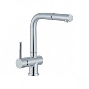 Slavina JS38601 – STEEL (od nerđajućeg čelika) za sudoperu sa izvlačnim tušem